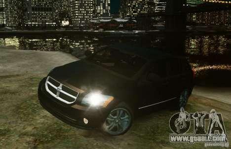 Dodge Caliber for GTA 4 left view