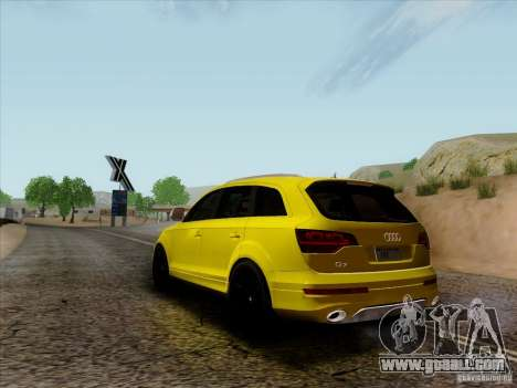Audi Q7 2010 for GTA San Andreas right view