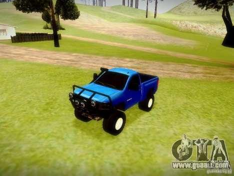 Chevrolet Silverado OFFRoad for GTA San Andreas