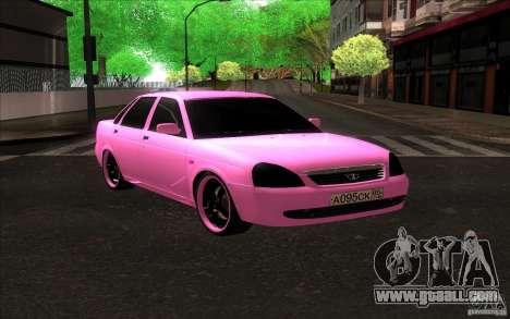 Lada Priora Emo for GTA San Andreas