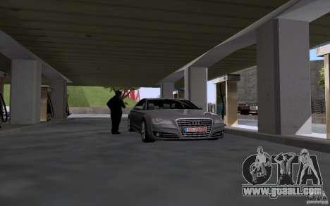 Tanker car at gas station for GTA San Andreas second screenshot
