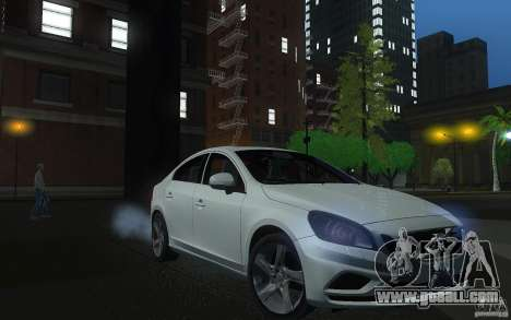 Volvo S60 2011 for GTA San Andreas back view