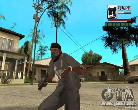 Glock new version for GTA San Andreas second screenshot