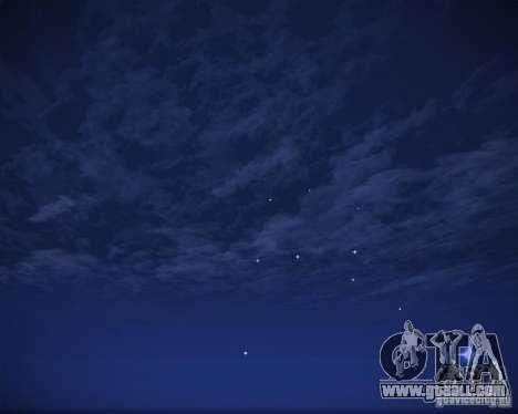 Real Clouds HD for GTA San Andreas ninth screenshot