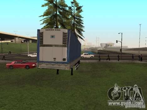 New trailer for GTA San Andreas back left view