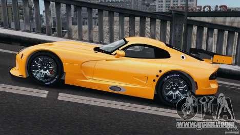 SRT Viper GTS-R 2012 v1.0 for GTA 4 left view