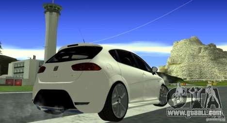 Seat Leon Cupra R for GTA San Andreas right view