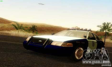 Ford Crown Victoria Masachussttss Police for GTA San Andreas