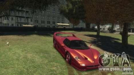 Ferrari F50 for GTA 4 right view