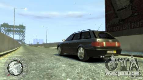 Audi RS2 Avant for GTA 4 left view