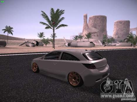 Vauxhall Astra VXR Tuned for GTA San Andreas back left view