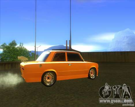 VAZ 2101 explosive car tuning for GTA San Andreas back left view