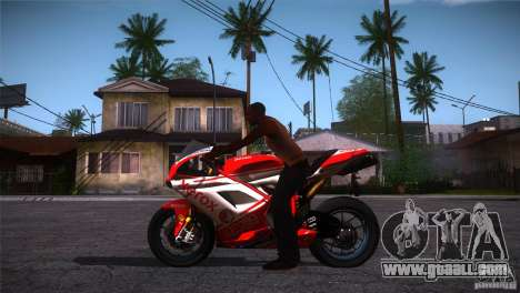 Ducati 1098 for GTA San Andreas left view