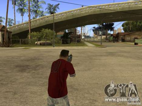 M4 Arma for GTA San Andreas forth screenshot