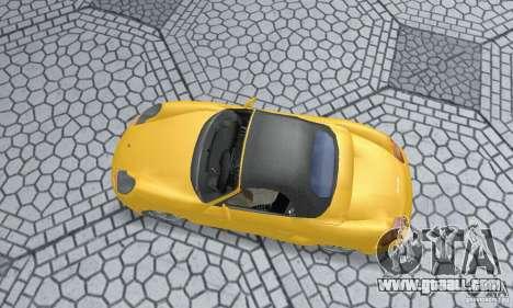 Porsche Boxster for GTA San Andreas back left view
