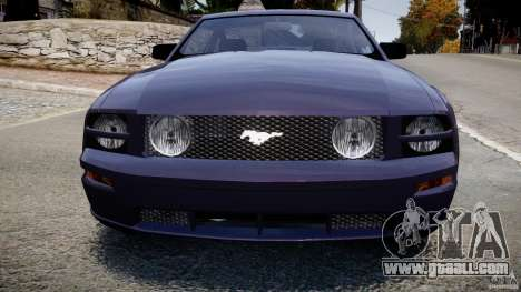 Ford Mustang for GTA 4 inner view