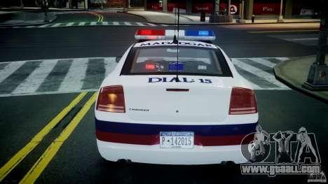 Dodge Charger Karachi City Police Dept Car [ELS] for GTA 4 bottom view