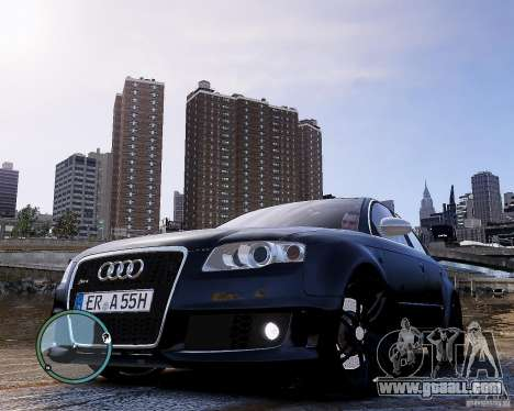 Audi RS4 for GTA 4 left view
