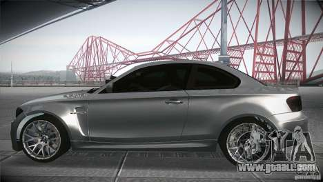 BMW 1M E82 Coupe 2011 V1.0 for GTA San Andreas left view