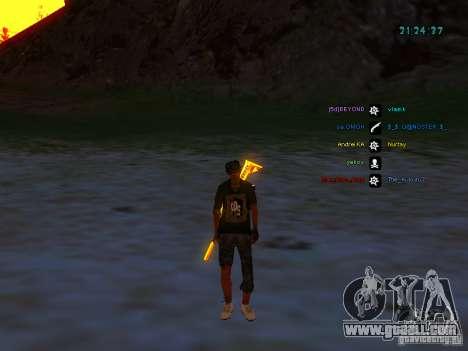 Skin pack for samp-rp for GTA San Andreas fifth screenshot