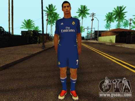 Cristiano Ronaldo v2 for GTA San Andreas