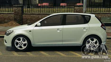 Kia Ceed 2011 for GTA 4 left view
