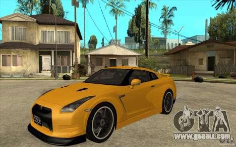 Nissan GT-R R35 for GTA San Andreas