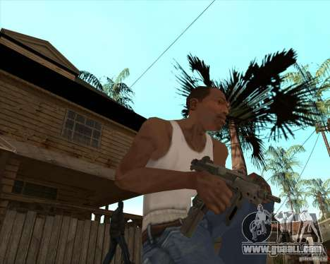 CoD:MW2 weapon pack for GTA San Andreas third screenshot