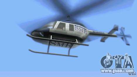 SubtopiCo SMB Maverick for GTA Vice City back view