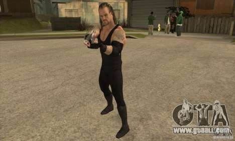 The undertaker from Smackdown 2 for GTA San Andreas second screenshot