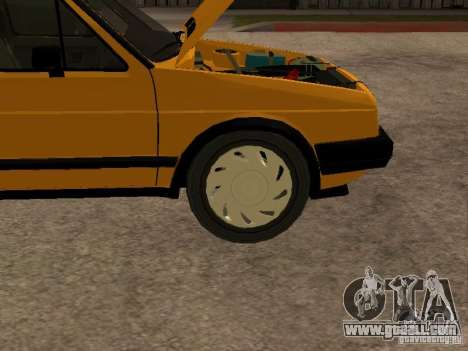 Volkswagen Jetta for GTA San Andreas inner view
