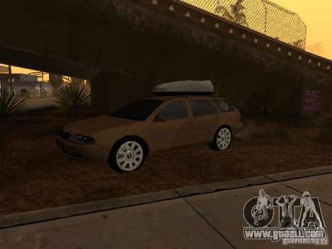 Skoda Octavia for GTA San Andreas left view