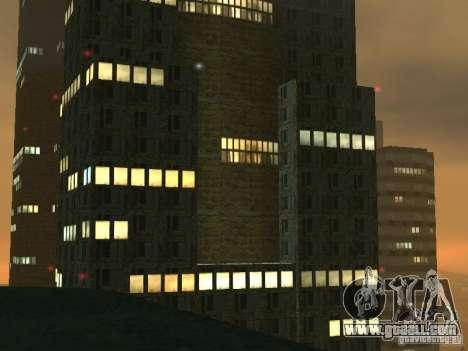 New textures skyscrapers LS for GTA San Andreas forth screenshot