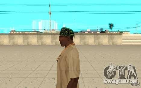 Bandana xbox for GTA San Andreas second screenshot