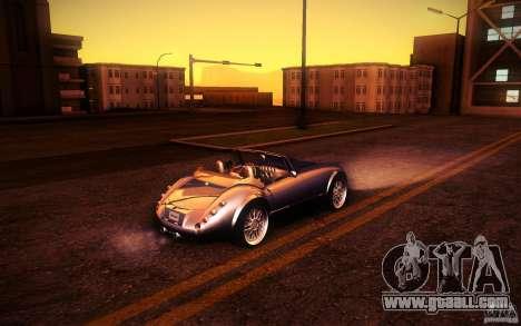 Wiesmann MF3 Roadster for GTA San Andreas upper view
