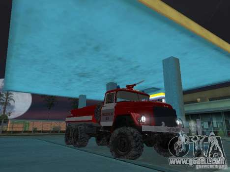 ZIL 131 AC-20 for GTA San Andreas back view