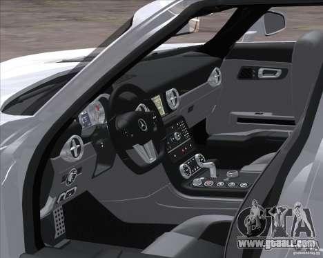 Mercedes-Benz SLS AMG for GTA San Andreas back left view