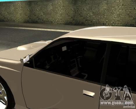 Azik Sultan for GTA San Andreas back left view
