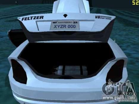 GTA IV Feltzer for GTA San Andreas inner view