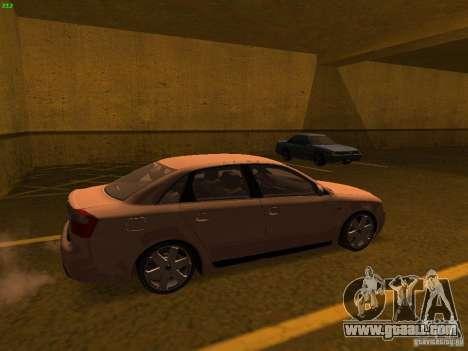 Audi S4 OEM for GTA San Andreas left view