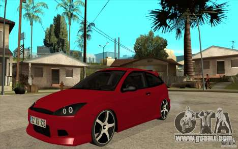 Ford Focus Coupe Tuning for GTA San Andreas