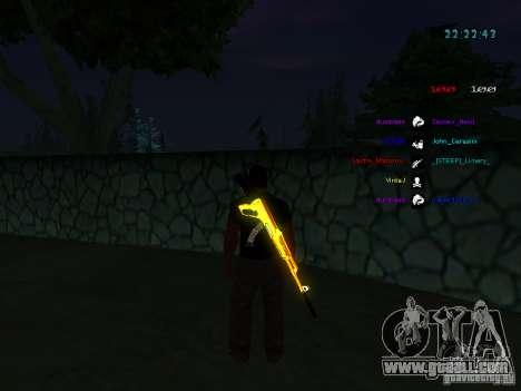 New skins La Coza Nostry for GTA: SA for GTA San Andreas sixth screenshot