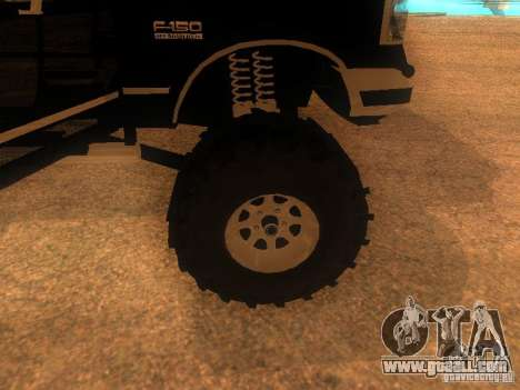 Ford F150 Off-Road for GTA San Andreas right view