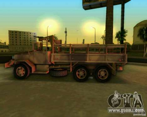 M352A for GTA Vice City back view