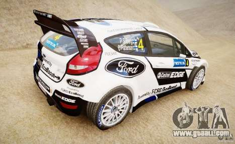 Ford Fiesta RS WRC for GTA 4 left view