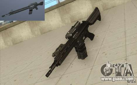 HK416 rifle for GTA San Andreas