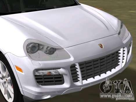 Porsche Cayenne Turbo S for GTA Vice City right view