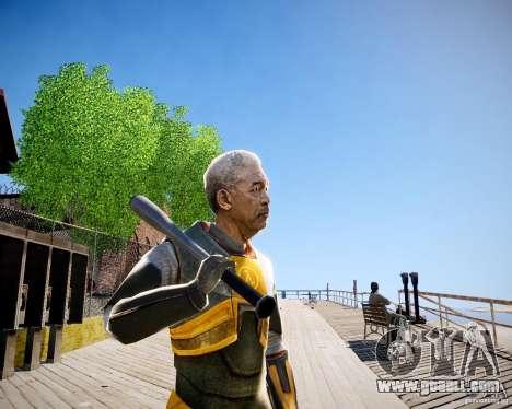 Morgan Freeman for GTA 4 forth screenshot