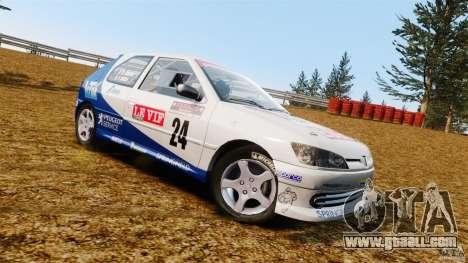 Peugeot 306 Gr. N Rally for GTA 4 left view
