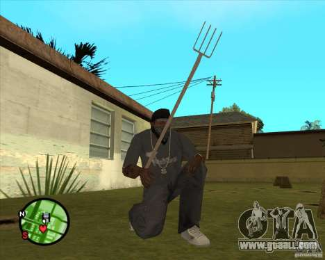 Pitchfork for GTA San Andreas